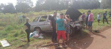 Cinco pessoas ficam feridas em acidente na BR 369
