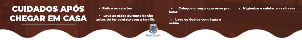 COVID CUIDADO COM AS COMPRAS  SANTA HELENA