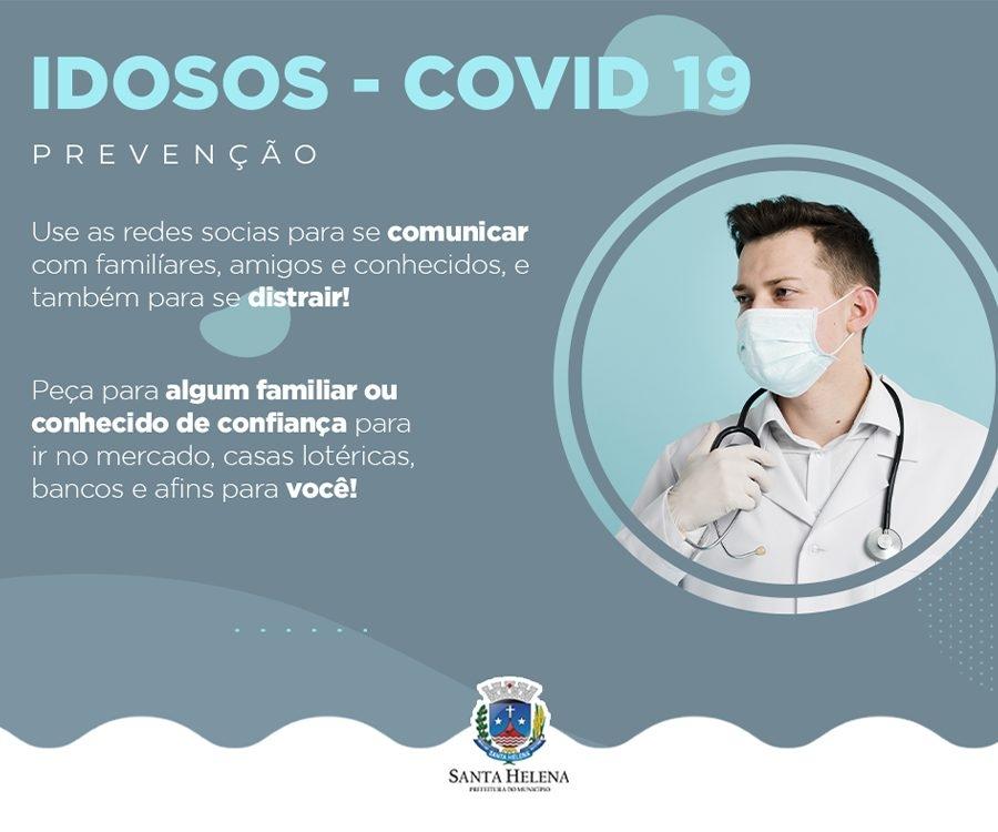 COVID IDOSOS EM CASA SANTA HELENA