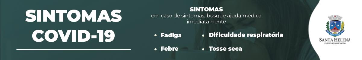 COVID PRINCIPAIS SINTOMAS santa helena