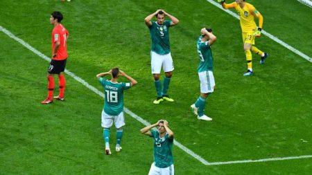 Alemanha dá vexame, perde da Coréia do Sul e está eliminada da Copa