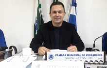 Vereador Paulo Vasata assume o cargo de prefeito em Santa Helena