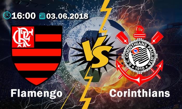 Flamengo vs Corinthians - Rodada 9