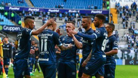 Grêmio vence o América-MG em casa e se reabilita no Campeonato Brasileiro