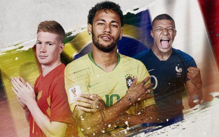 Brasil x Bélgica 15h - Arena Kazan; Quartas de final da Copa do Mundo