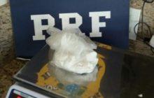 Santa Terezinha de Itaipu: Motociclista é detido pela PRF com porção de cocaína