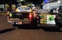 (Vídeo)Rotam da Policia Rodoviária prende duas pessoas com mais de meia tonelada de maconha em Pato Bragado