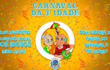 Carnaval da Terceira Idade acontece nesta quinta-feira com escolha do Rei Momo e Rainha 2019