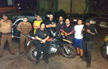 Moto Furtada é recuperada pela PM e equipe do Grupo Ataque