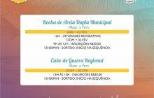 BOCHA DE AREIA MUNICIPAL E CABO DE GUERRA REGIONAL SÃO ATRAÇÕES DO ITAVERÃO NESTE FINAL DE SEMANA