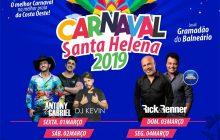 Carnaval 2019 em Santa Helena promete reunir grande público