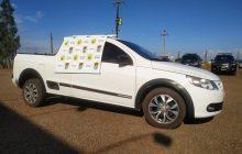 BPFron recupera veículo furtado em Entre Rios do Oeste