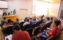Circuito Regional de Futsal é criado em reunião realizada em Itaipulândia. Santa Helena também participa