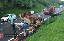 Acidente deixa um morto e um ferido na BR 277, em São Miguel do Iguaçu