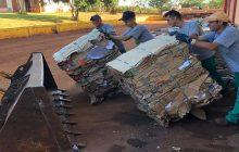 Agentes ambientais recolhem mais de 100 toneladas de recicláveis e aumentam sua renda mensal