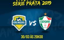 São Miguel Futsal joga em casa hoje(30) pela Série Prata