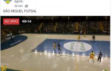 AO VIVO Tv Amarelinho: Placar final São Miguel Futsal 1 X 5 Aymoré em jogo amistoso