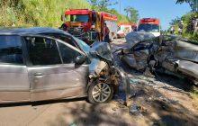 Criança morre e nove pessoas ficam feridas após acidente na PR-468, em Mariluz