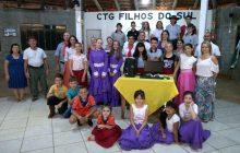 CTG Filhos do Sul recebe doação de computador do Rotary e Sicredi de Marechal Rondon