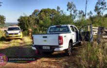 São Miguel: Após denúncia, Polícia Militar localiza S10 que havia sido roubada