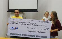 Liberada 1ª parcela do financiamento aos mutuários da casa própria em Itaipulândia