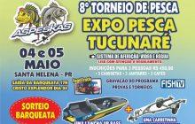 8º Torneio de Pesca e Expo Pesca Tucunaré 2019 acontecem nos dias 4 e 5 de maio em Santa Helena