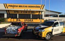 Polícia Rodoviária apreende grande quantidade de agrotóxicos na região
