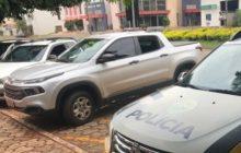 Itaipulândia: Polícia Militar recupera Fiat Toro roubada em Medianeira