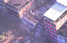 Plantão: Prédios desabam, deixam dois mortos e dezenas de feridos no RJ.