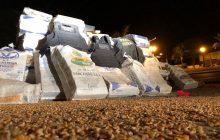 PF apreende cerca de 3 toneladas de maconha em caminhão