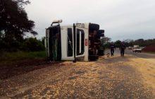 Dois acidentes deixam seis pessoas feridas em rodovias federais do oeste do Paraná