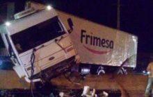 Vídeo: Polícia prende caminhoneiro após causar grave acidente na rodovia PR-317