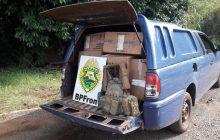 Veículo com contrabando é apreendido na região de Pato Bragado