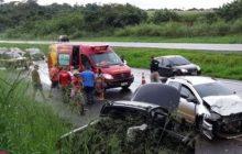 Veículo de Medianeira se envolve em grave colisão na BR 277