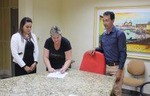 Após reformado e ampliado, barracão abrigará nova empresa no Bairro Caramuru em Itaipulândia