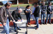 Pato Bragado inaugura pista de skate e oficializa construção da ciclovia a Entre Rios do Oeste