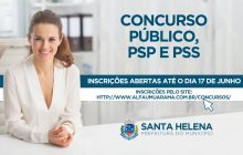 Restam cinco dias para encerramento das inscrições para o Concurso Público, PSP e PSS