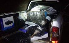 BPFron apreende camionete após perseguição que iniciou em São Miguel, por Matelândia e terminou em Medianeira