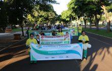 Santa Helena: Caminhada pelo Desenvolvimento Sustentável aconteceu na manhã de hoje(10)