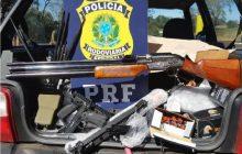 PRF prende dois homens com Carabina calibre 22