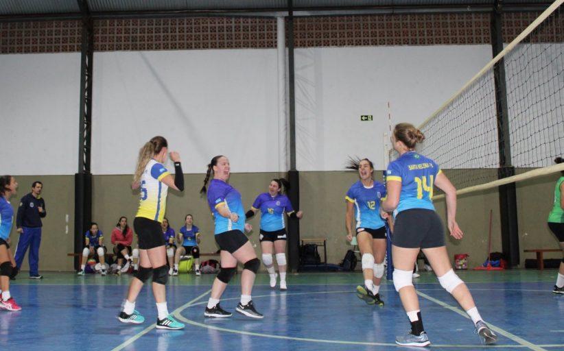 Jogos Abertos: Santa Helena se destaca em jogos da primeira fase