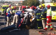 Somente perícia pode confirmar o que provocou acidente na BR 277, afirma PRF