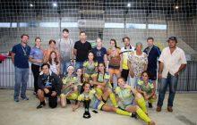 Copa Friella: Santa Helena é campeã do futsal feminino sub-15 e vice no sub-9