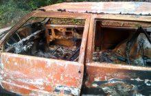 Morador da região que teve carro encontrado queimado ontem, continua desaparecido e família está desesperada