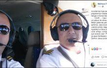 Piloto morre durante voo, copiloto assume comando do avião e faz pouso de emergência em Campo Grande