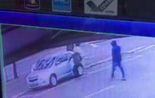 Vídeo: Homem é rendido e tem carro roubado no centro de São Miguel