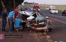 Medianeira: Vítima de acidente registrado na BR 277 falece no hospital