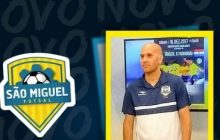 Técnico Seco Zanetti se desliga do São Miguel Futsal