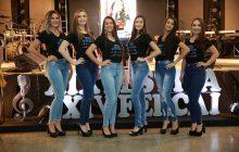 Candidatas a beleza máxima de Itaipulândia são apresentadas durante evento cultural