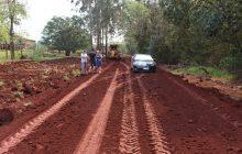 Prefeitura de Itaipulândia e Itaipu Binacional investem em estrada rural